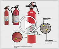 Fire Extinguisher recall video link